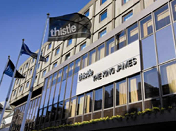 Case Study - Edinburgh St James Thistle Hotel
